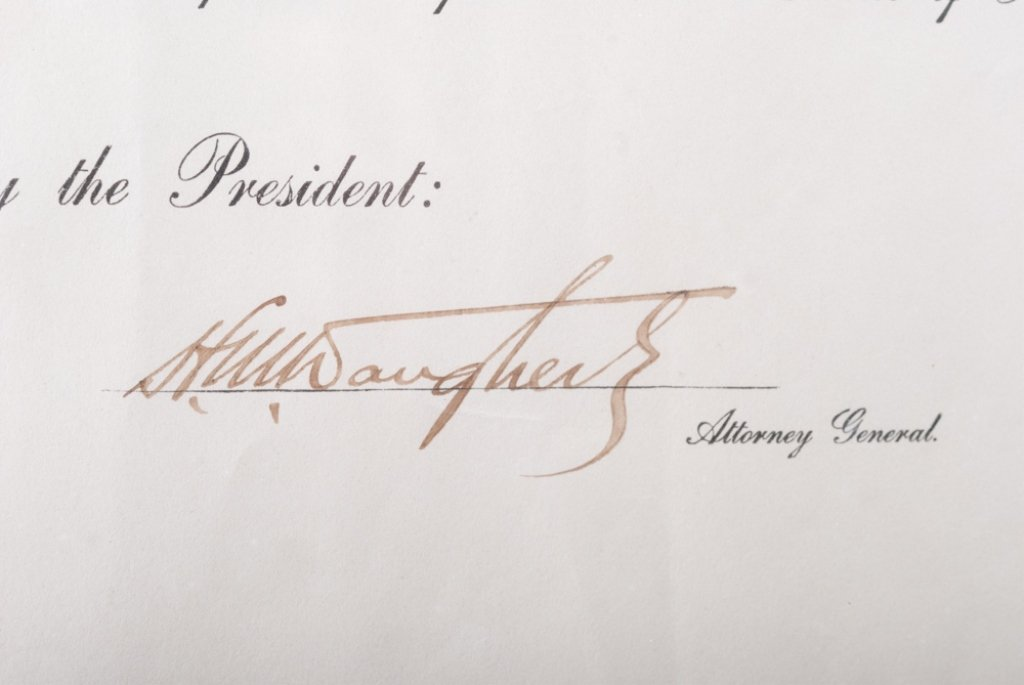 Calvin Coolidge Notary Appointment Document - 5