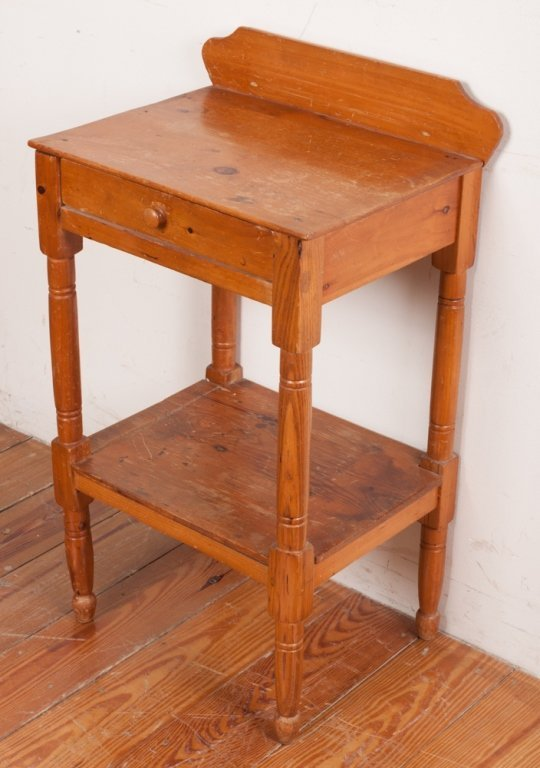 Country Pine Wash Stand