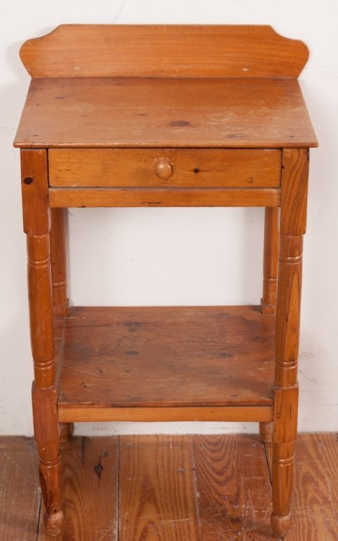 Country Pine Wash Stand - 3