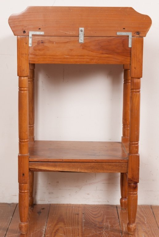 Country Pine Wash Stand - 6