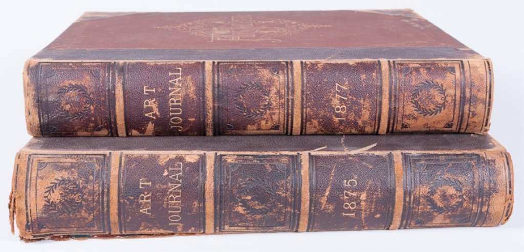 The Art Journals of 1875 and 1877, Pair - 10