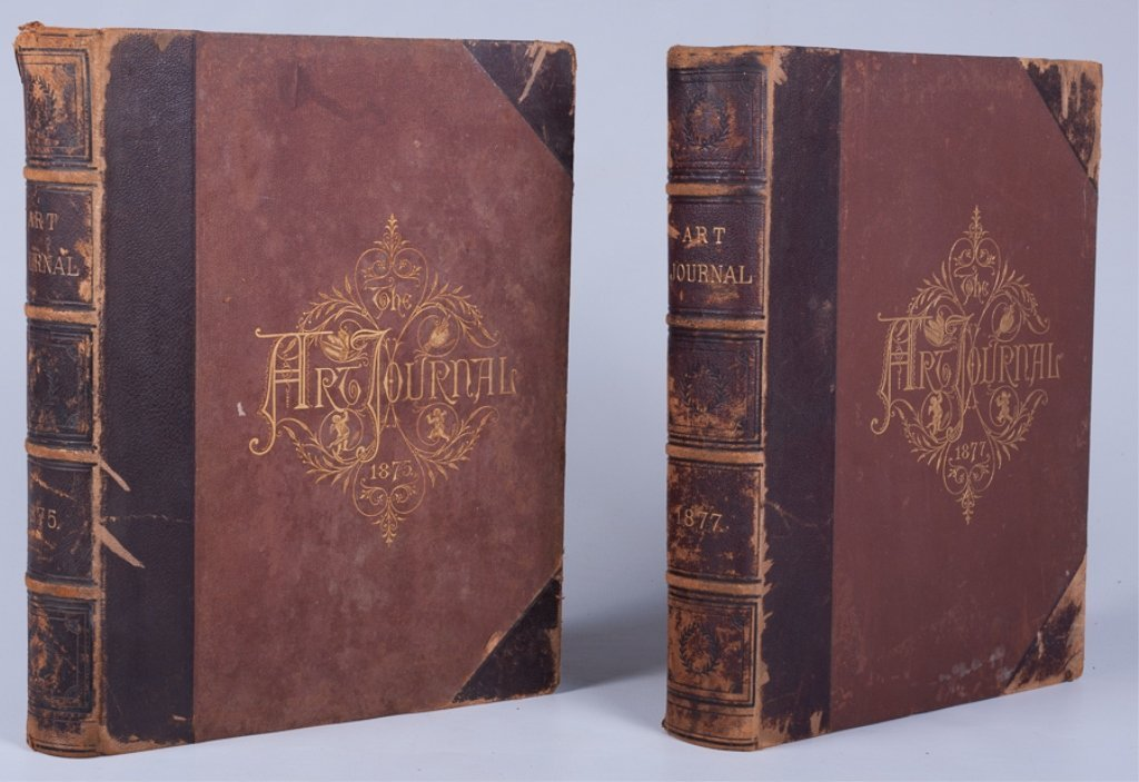 The Art Journals of 1875 and 1877, Pair