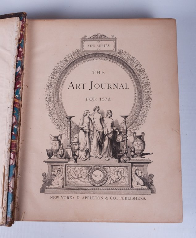 The Art Journals of 1875 and 1877, Pair - 5