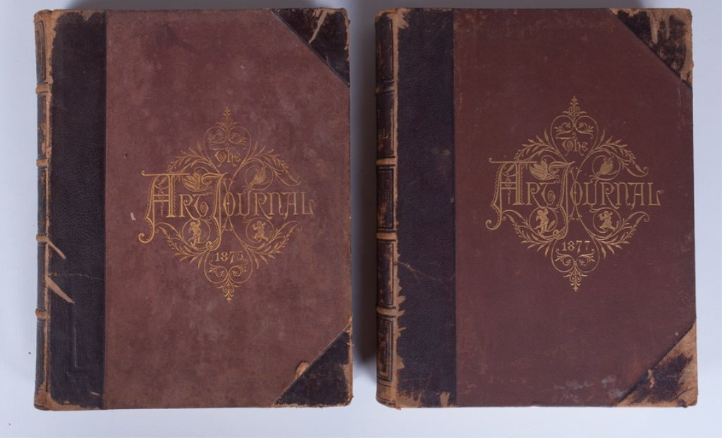 The Art Journals of 1875 and 1877, Pair - 9