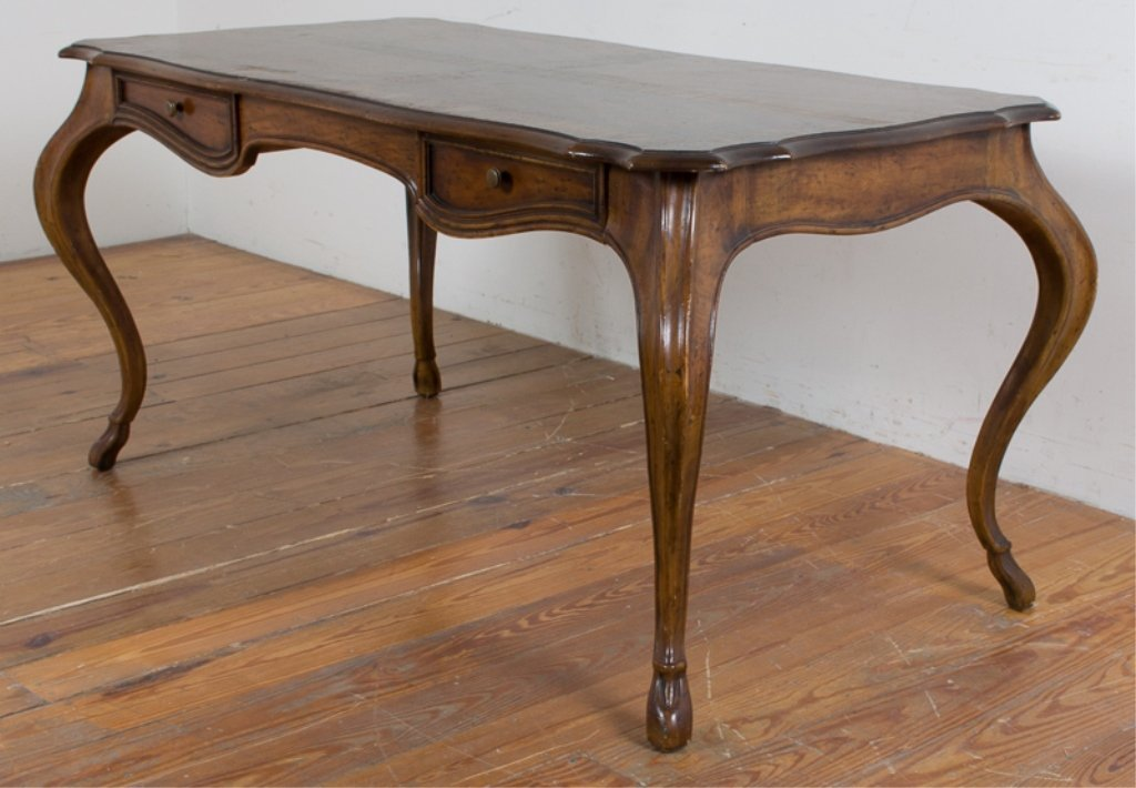 Heritage Grand Tour Walnut Desk