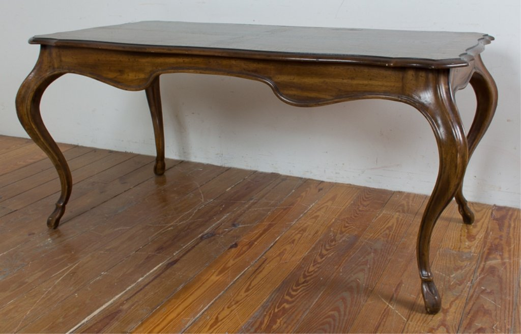 Heritage Grand Tour Walnut Desk - 5