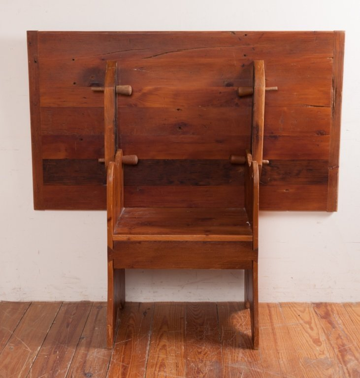 Bench Crafted Pine Hutch Table - 6