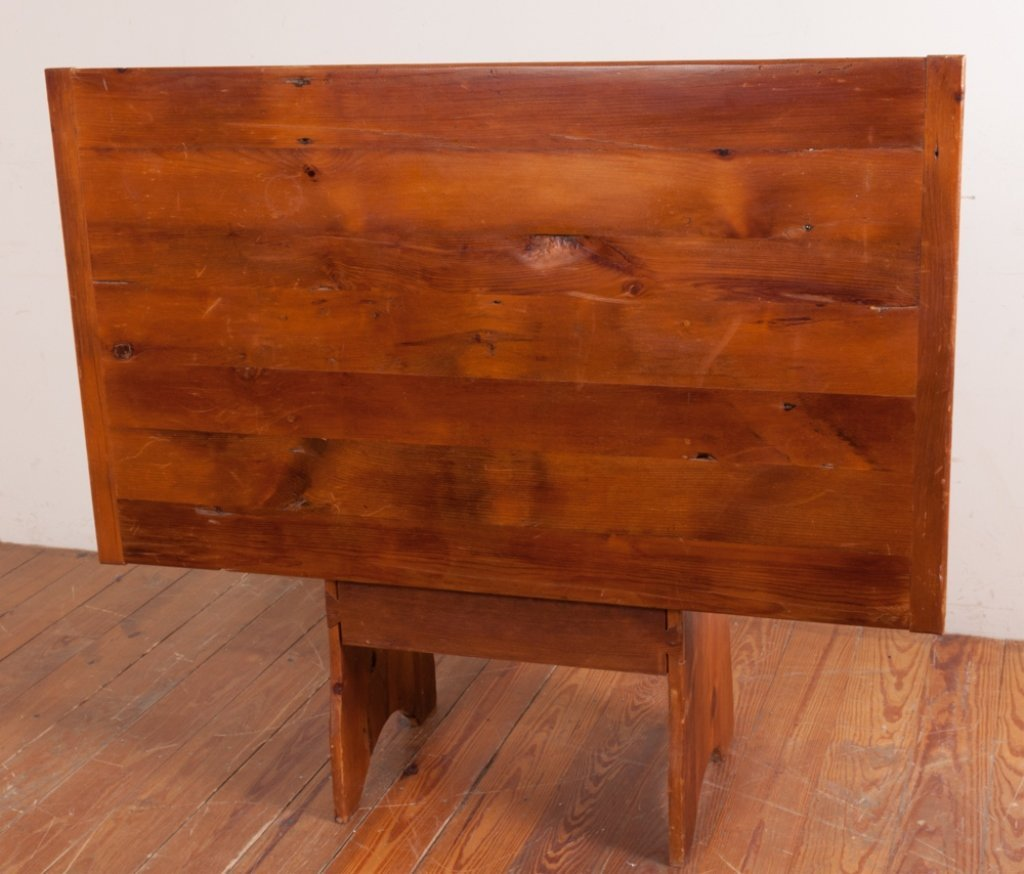 Bench Crafted Pine Hutch Table - 8