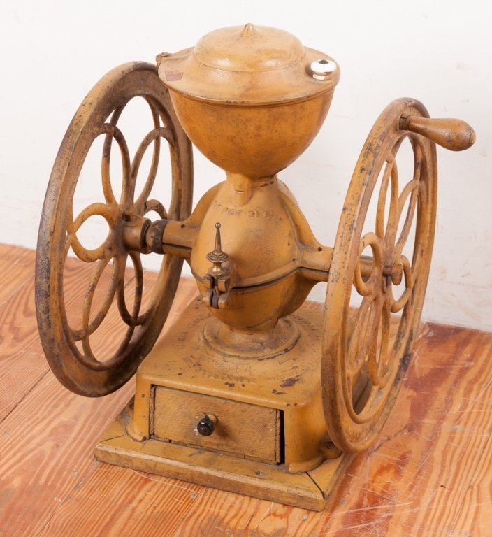 Enterprise Mfg. Co. Dual Wheel Coffee Grinder