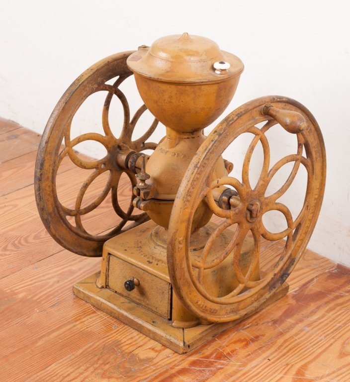 Enterprise Mfg. Co. Dual Wheel Coffee Grinder - 2