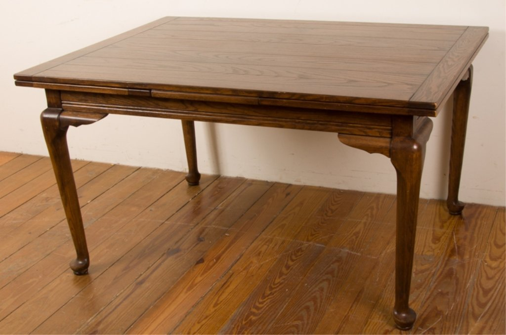 20th Century English Oak Dining Table