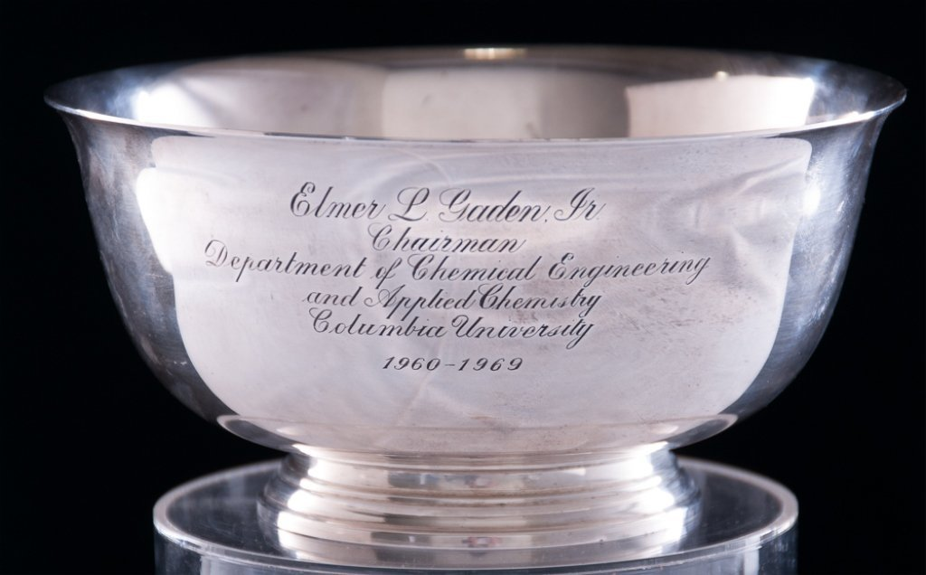 Tiffany & Co. Columbia University Sterling Bowl