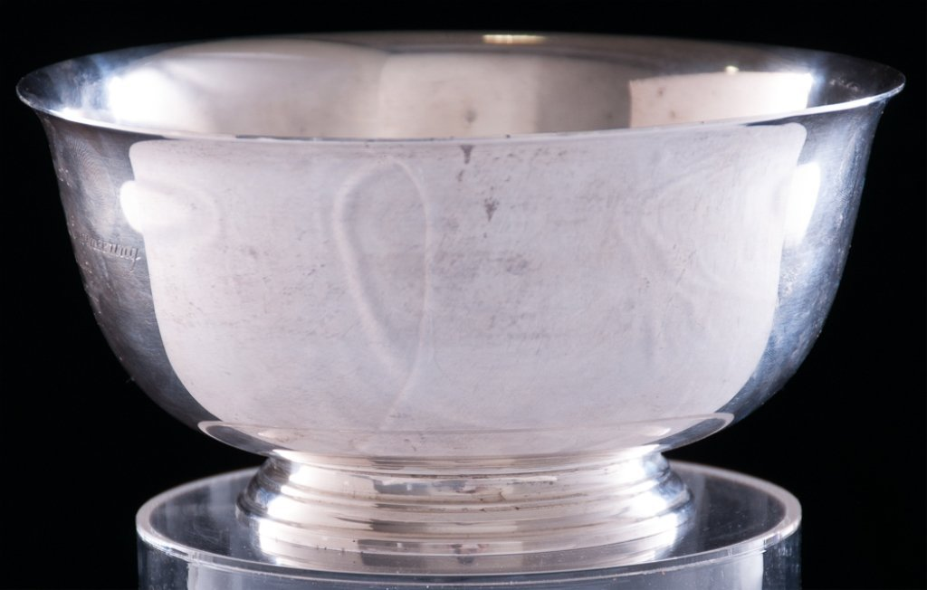 Tiffany & Co. Columbia University Sterling Bowl - 2