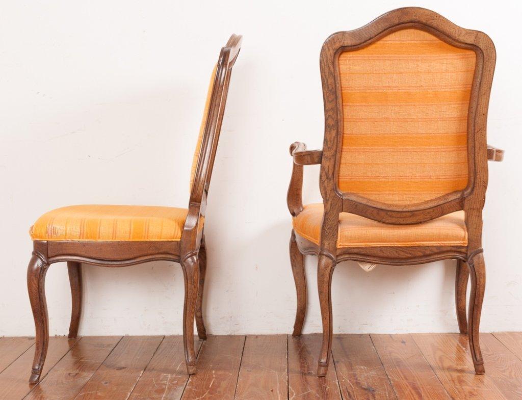 John Stuart Upholstered Dining Chairs, Six (6) - 10