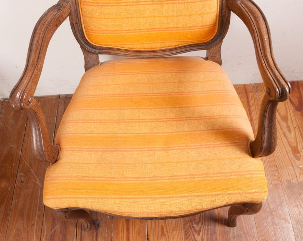 John Stuart Upholstered Dining Chairs, Six (6) - 7