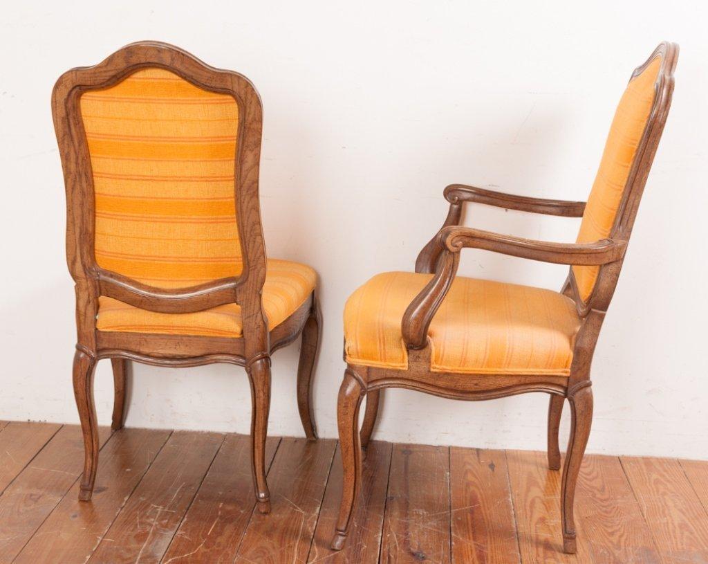 John Stuart Upholstered Dining Chairs, Six (6) - 9