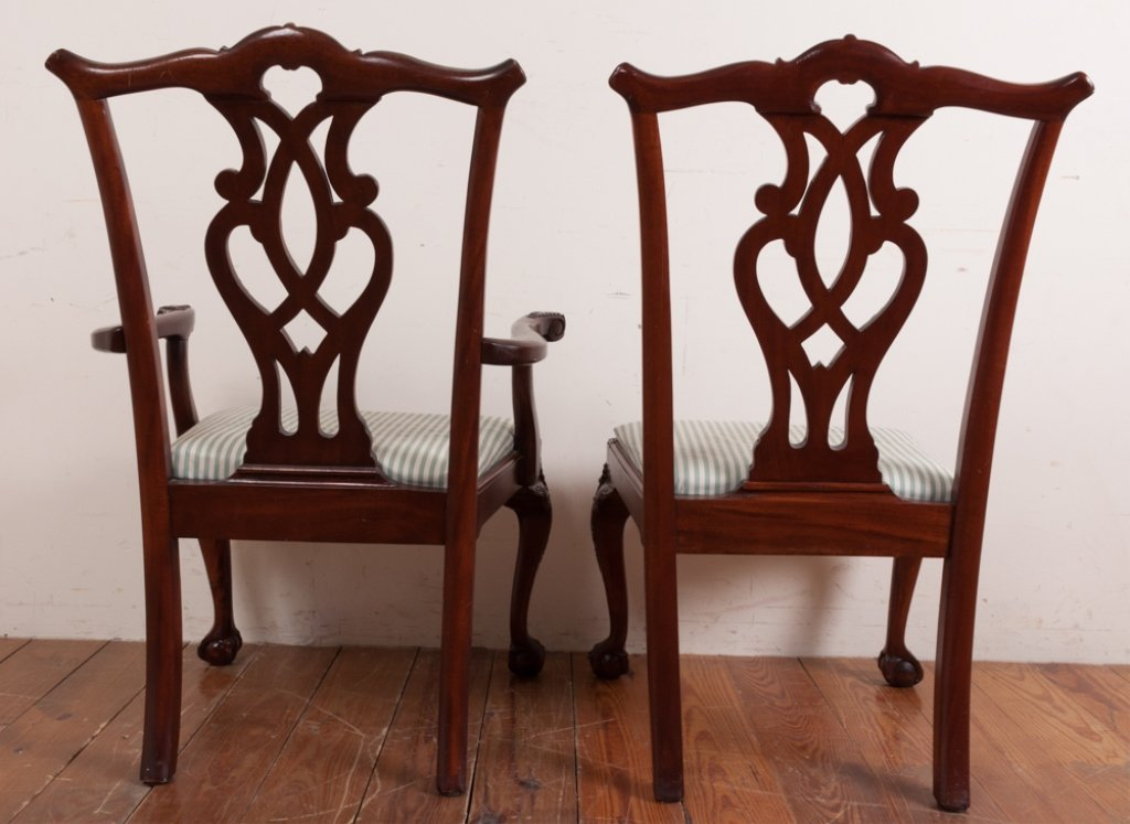 Queen Anne Style Dining Room Chairs - 9