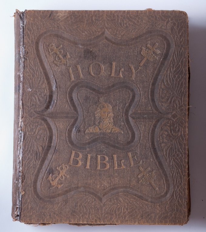 Leather Bound Holy Bibles, Two (2) - 6