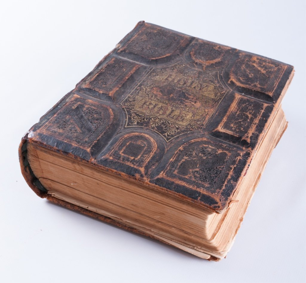 Leather Bound Holy Bibles, Two (2) - 8