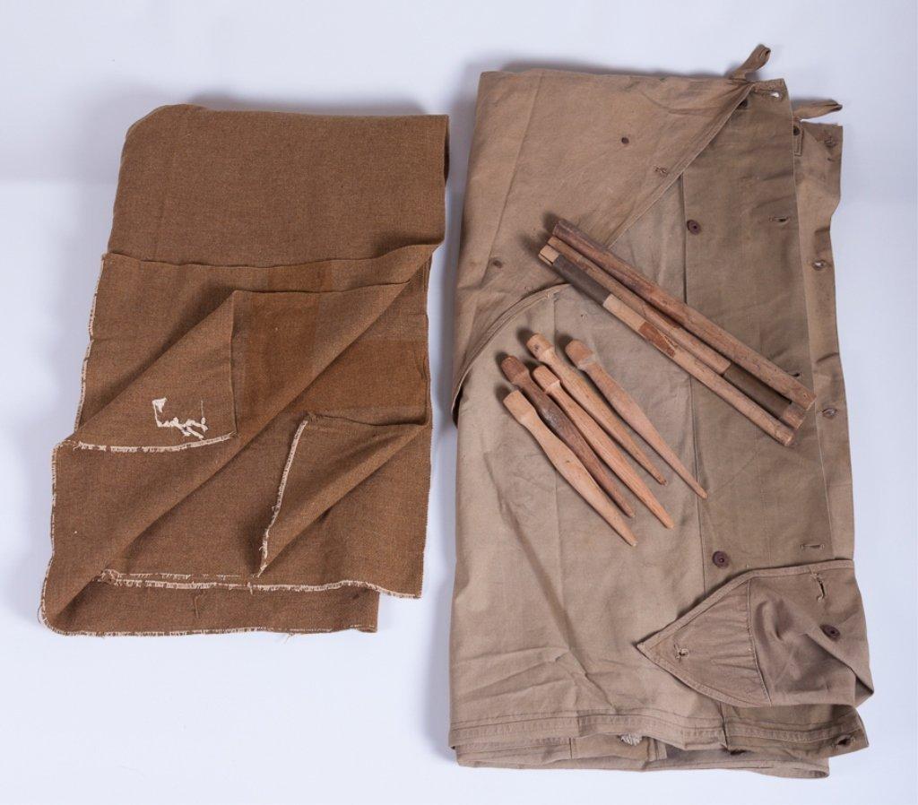 U.S Army Pup Tent Kit & Blanket