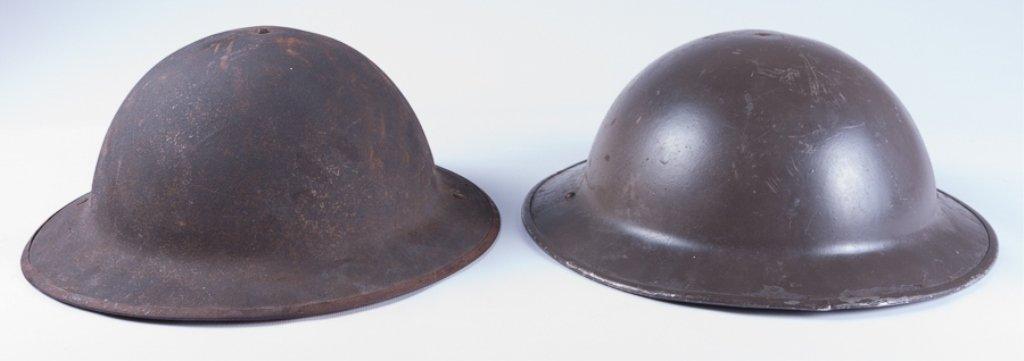 WWI American Doughboy Helmets, Two (2)