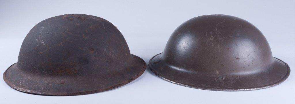 WWI American Doughboy Helmets, Two (2) - 5