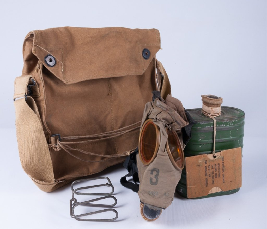 Gas Mask Small Box Respirator with Haversack - 4