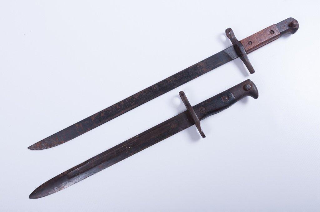 Matsushita Bayonet & U.S. Krag 1901 Bayonet