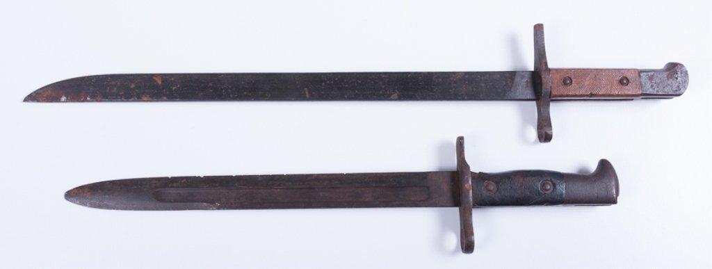 Matsushita Bayonet & U.S. Krag 1901 Bayonet - 5