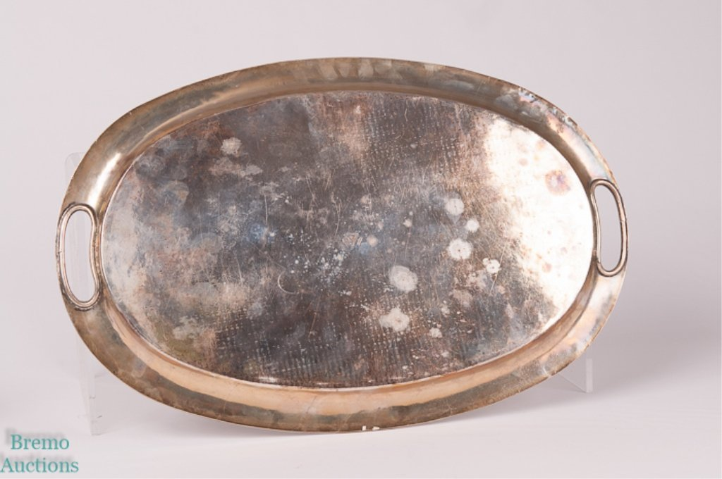 Plateria Alameda Mexican Sterling Silver Platter - 2