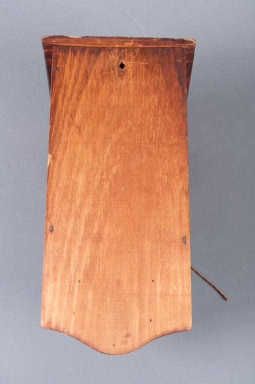 Antique Wooden Dinner Bell w/ Byron Poem - 5