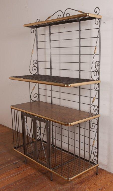 Decorative Metal Bakers Rack