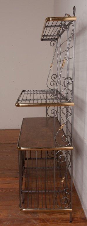 Decorative Metal Bakers Rack - 2