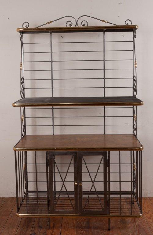 Decorative Metal Bakers Rack - 3