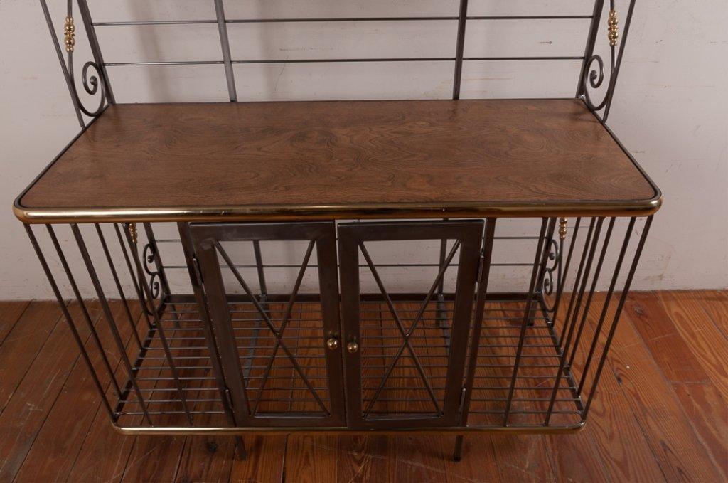 Decorative Metal Bakers Rack - 4