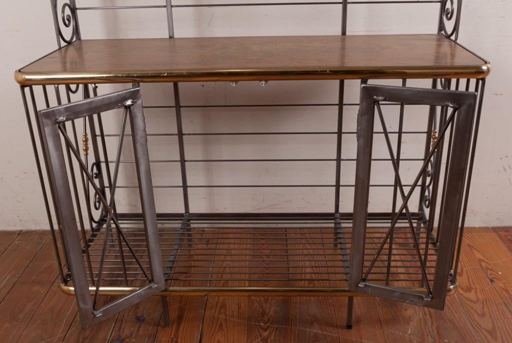 Decorative Metal Bakers Rack - 6