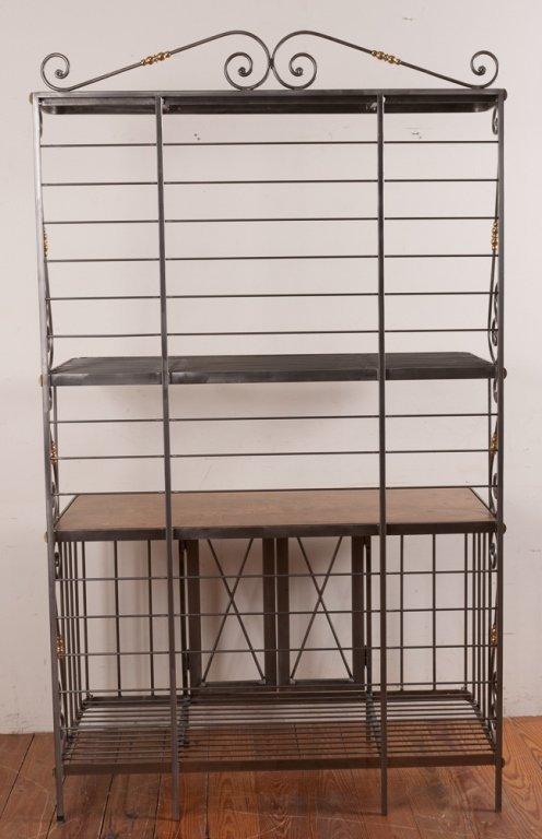 Decorative Metal Bakers Rack - 7