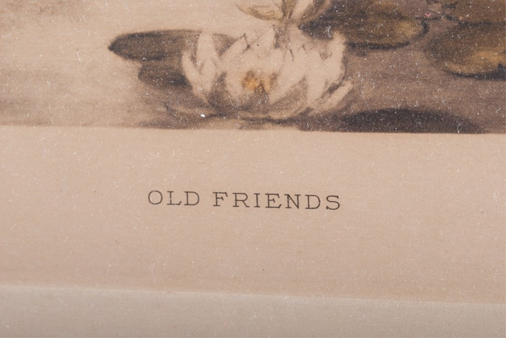 "Meta Morris Grimball ""Old Friends"" Print - 3"