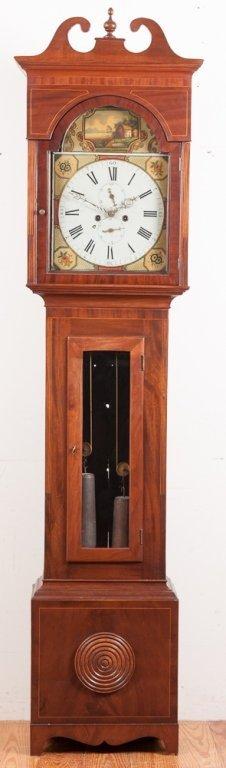 John Adam Scottish Tall Case Clock
