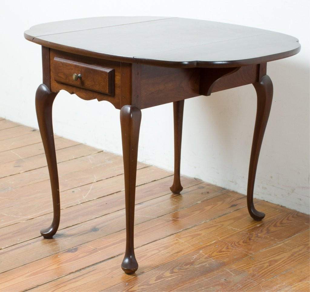 Hitchcock Queen Anne Style Butterfly Table - 2