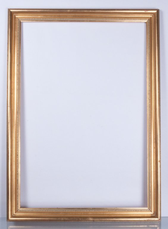 "39-3/8"" x 28-1/2"" Gold Framed Picture Frame"