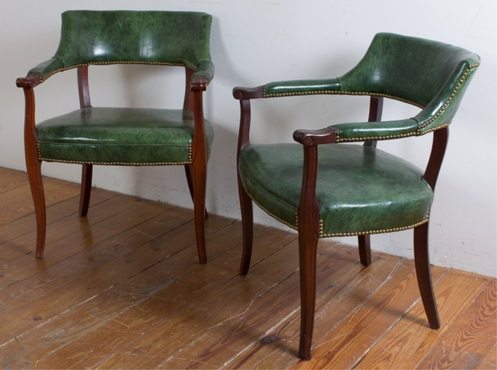 Captain's Guest Chairs, Pair