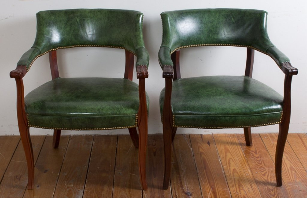 Captain's Guest Chairs, Pair - 2