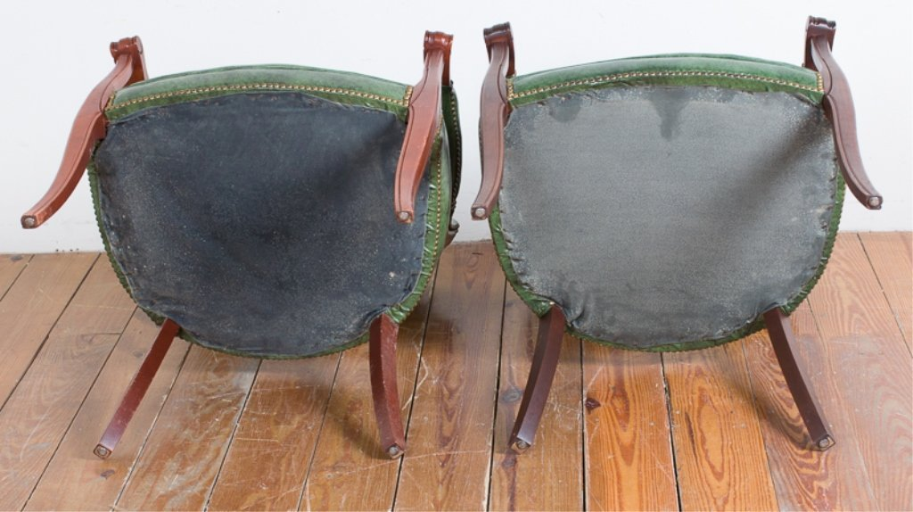 Captain's Guest Chairs, Pair - 4