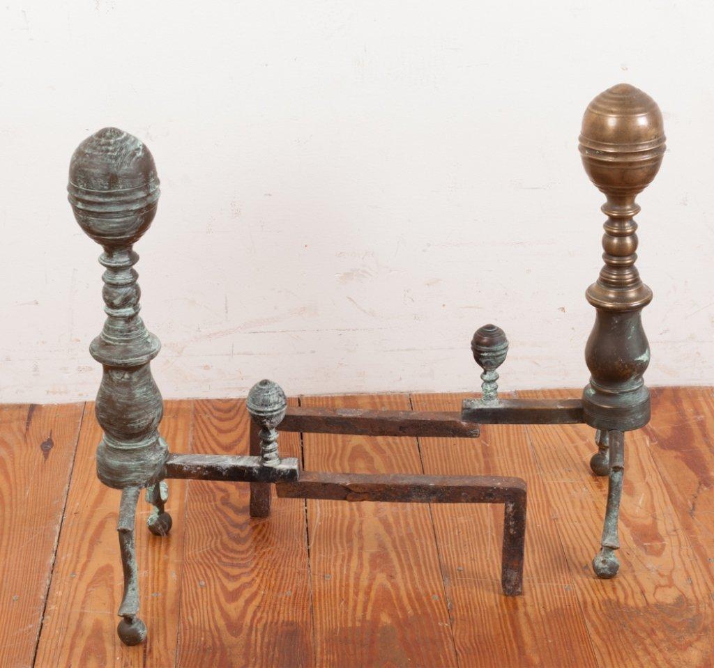 Set of 18th Century Andirons - 2