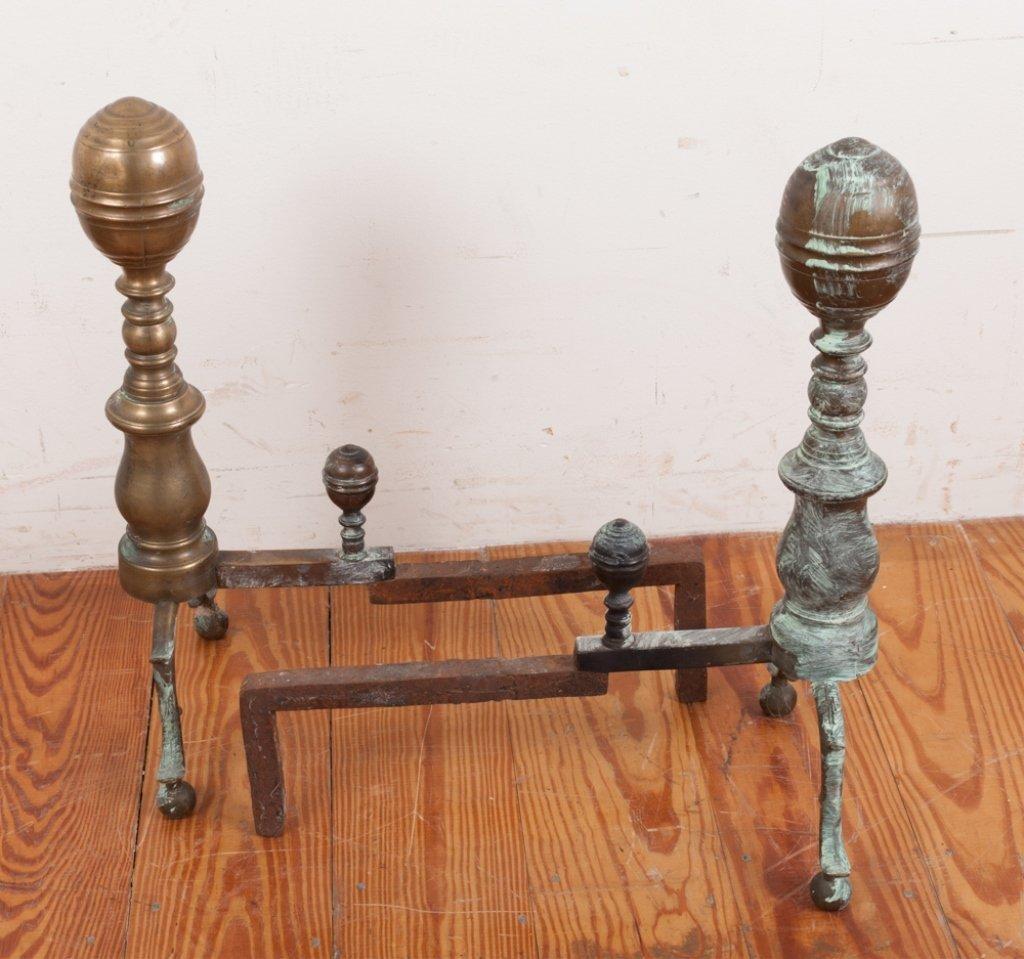 Set of 18th Century Andirons - 3