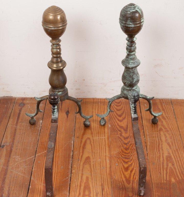 Set of 18th Century Andirons - 4