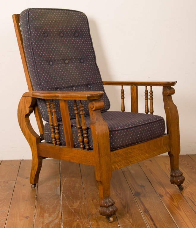 Cook and Co. Upholstered Reclining Chair