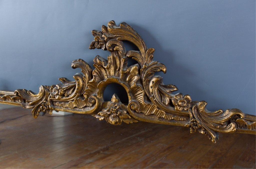 Ornate Framed Rectangle Wall Mirror - 4