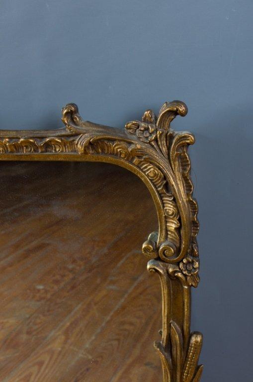Ornate Framed Rectangle Wall Mirror - 5